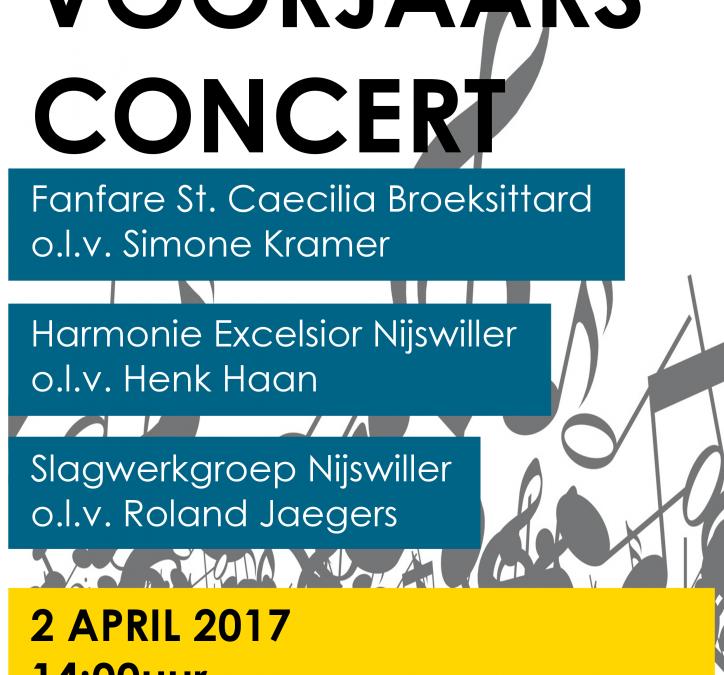 Voorjaarsconcert 2017