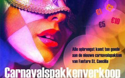 Carnavalspakkenverkoop fanfare